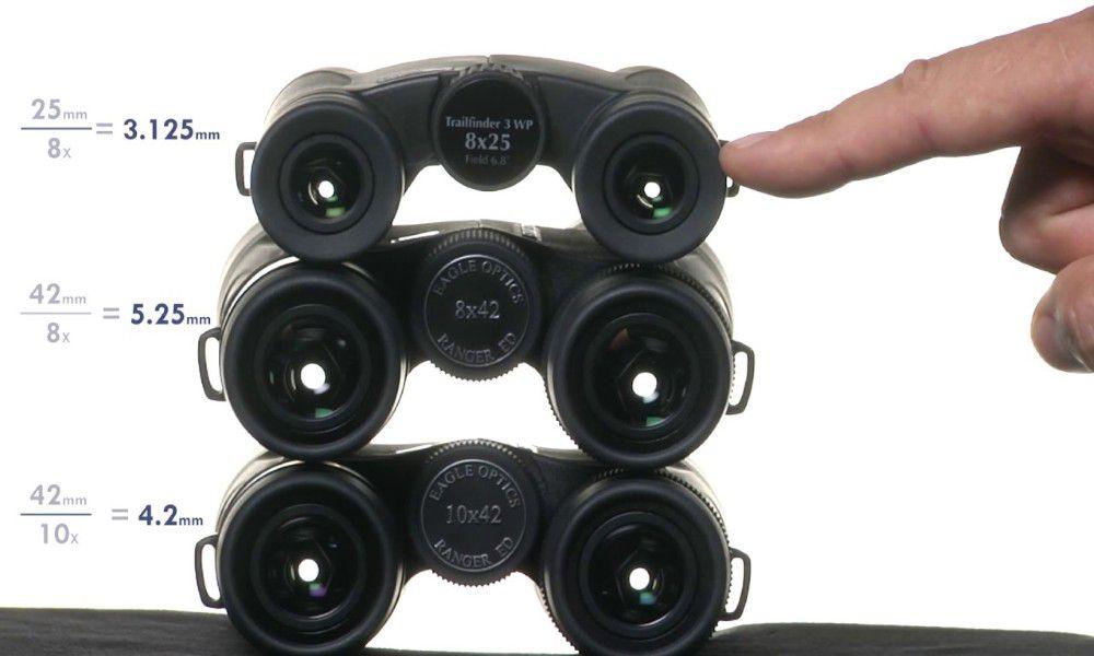 8x vs 10x Binoculars