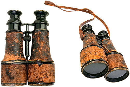 When were Binoculars Invented